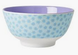 Large Melamine two tone bowl, STDUST print, By Rice.dk