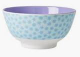 Large Melamine two tone bowl, STDUST print, By Rice.dk