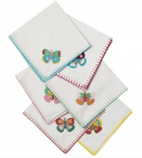 Fabric napkins set of 6 from Rice.dk,  Danish Design