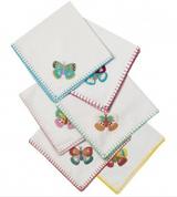 Fabric napkins set of 6 from Rice.dk,  Danish Design
