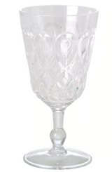 Acrylic wine glass, from Rice.dk