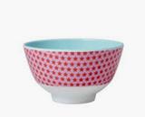 Small Melamine Bowl, Girl Star Print