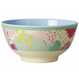 Small Melamine Bowl, Splash Print