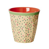 Melamine Medium cup with Dots print from Rice.dk
