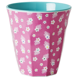 Melamine Medium cup with Icon Flower print from Rice.dk