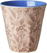 Melamine Medium cup with Flower Field print from Rice.dk