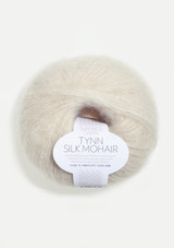 Tynn Silk Mohair, Putty 1015. Sandnes Garn in the US, Norwegian yarn, Kitt 1015