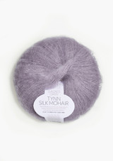 Tynn Silk Mohair, Dusty Lilac 4631, Sandnes Garn from Norway