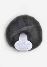 Tynn Silk Mohair, Steel Grey 6707, Sandnes Garn from Norway, Stålgrå