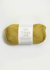Tynn Line, Yellow Green 2024 Sandnes Garn from Norway, Norwegian yarn