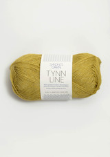 Tynn Line, Yellow Green 2024 Sandnes Garn from Norway, Norwegian yarn