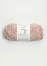 Tynn Line, Powder Rose 3511, Sandnes Garn from Norway