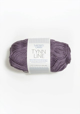 Tynn Line, Dusty Lilac 5052 from Sandnes Garn in Norway