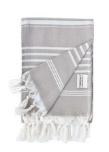 Hand towel, Mocha, Natural hand towel from Turkish-t, 100% cotton