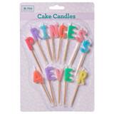 Cake candles, Princess 4ever, Rice