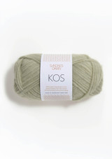 Kos Dusty Pistachio  9521, By Sandnes Garn, Norwegian Made yarn