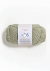 Kos Dusty Pistachio  9521, By Sandnes Garn, Norwegian Made yarn