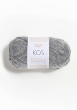 Kos, Grey Heather 1043, Alpakka yarn from Sandnes Garn in Norway