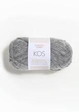 Kos, Grey Heather 1043, Alpakka yarn from Sandnes Garn in Norway