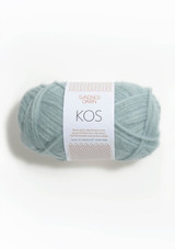 Kos, Dusty Light blue,  7522, Alpakka yarn from Sandnes Garn, Norwegian Made