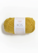 Kos Yellow 2023, Sandnes Garn, Kos, Norwegian Made Yarn