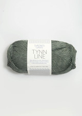 Tynn Line Dusty Green 8561, Sandnes Garn, Norwegian made yarn