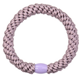 Kknekki Pearl Lavender hair tie from Bon Dep in Norway