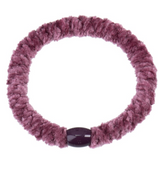Kknekki Velvet Mauve, Hair ties from Bon Dep in Norway