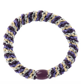 Kknekki, mix purple, hair ties from Bon Dep in Norway