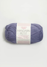 Mandarin Petit Dusty Purple 5553, 100% cotton from Sandnes Garn, Norwegian yarn in the US, Sandnes Garn in the US