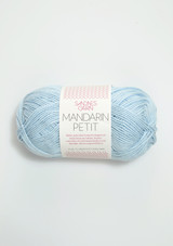 Mandarin Petit Lys Blå 7512,  Sandnes Garn 100% cotton yarn, Sandnes Garn from Norway, Norwegian Yarn from Sandnes, Sandnes Garn in the US