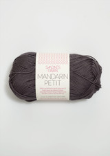 Mandarin Petit Dusty Grey 5870, 100% cotton, Sandnes Garn from Norway, Sandnes Garn in the US