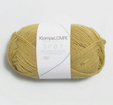 Spot, Spøt, corn yellow 2034, Sandnes Garn from Norway, Klompe Lompe yarn from Norway, Alpaca and Merino wool
