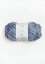 Kos Riviera Blue, 6031, Sandnes Garn in the US, Sandnes Garn Norwegian yarn