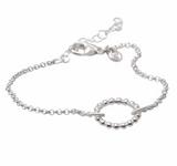 Karla Sterling Silver Bracelet, Huldresolv sterling silver bracelet, Huldresolv from Norway, Norwegian made jewelry