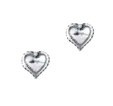 Pia Sterling Silver ear studs, Huldresolv ear studs, Made in Norway, Norwegian jewelry, Huldresolv in the US