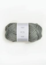 Kos Dusty Light Green 8521, Sandnes Garn Kos, Kos Alpacka yarn, Norwegian Yarn , Sandnes Garn in the US
