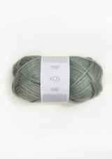 Kos Dusty Light Green 8521, Sandnes Garn Kos, Kos Alpacka yarn, Norwegian Yarn , Sandnes Garn in the US