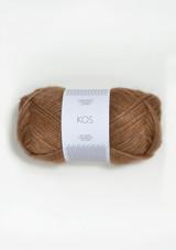 Kos Burnt Sugar 2543, Kos Brun Sukker, Sandnes Garn, Sandnes Garn in the US, Sandnes Garn in USA, Norwegian made yarn