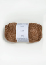 Kos Burnt Sugar 2543, Kos Brun Sukker, Sandnes Garn, Sandnes Garn in the US, Sandnes Garn in USA, Norwegian made yarn