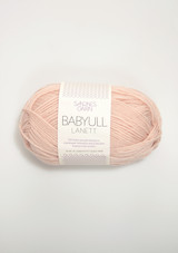 Babyull Lanett, Powder Pink 3511, Sandnes Garn in Norway, Norwegian yarn from Sandnes Garn, Sandnes Garn in the US