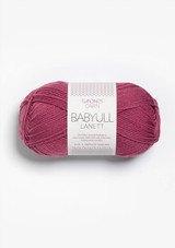 Babyull Lanett 4244, Dark Old Pink, Sandnes Garn, Babyull by Sandnes Garn, Norwegian yarn, Sandnes Garn in the US