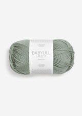 Babyull Lanett, Dusty Light Green 8521, Sandnes Garn from Norway, Norwegian Yarn, Sandnes Garn in the US