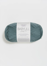 Babyull Lanett Blue Petrol 7251, Sandnes Garn from Norway, Sandnes Garn in the US, Norwegian Yarn