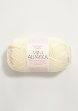 Mini Alpakka,  1012 Natural
