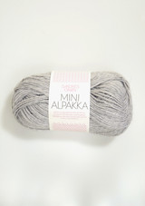 Mini Alpakka, 1032 Light Gray Heather
