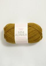 Mini Alpakka Mustard 2335, Sandnes Garn Mini Alpakka, Sandnes Garn in USA, Petit Knit