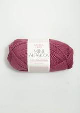 Mini Alpakka, Plum Mini Alpakka from Sandnes Garn, Sandnes Garn in USA, Norwegian Yarn, Petit Knit