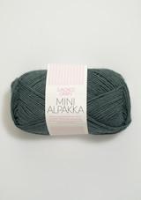 Mini Alpakka Petroleum 7572, Sandnes Garn in USA, Norwegian Yarn, Petit Knit,