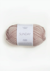 Sunday, Sandnes Garn Sunday, Powder Pink 3511, Petit Knit Sunday , Petit Knit Yarn, Sandnes Garn in USA